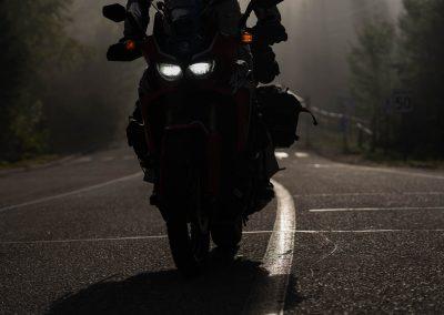 Road trip moto au Québec