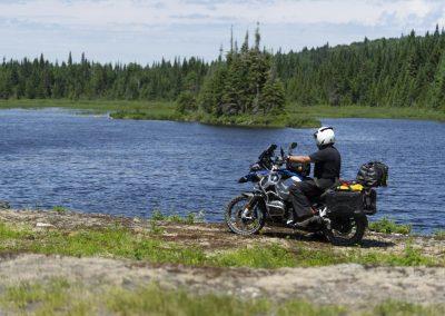 Road trip moto Laurentides
